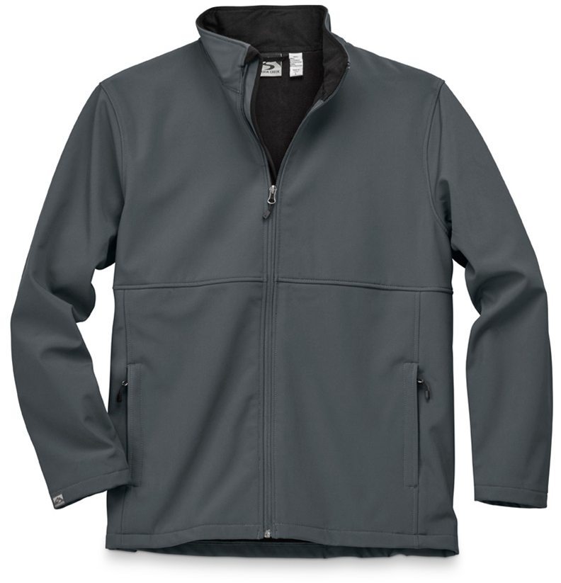 Storm Creek - Men's High-Stretch Fleece-Lined Softshell Jacket-Storm Creek