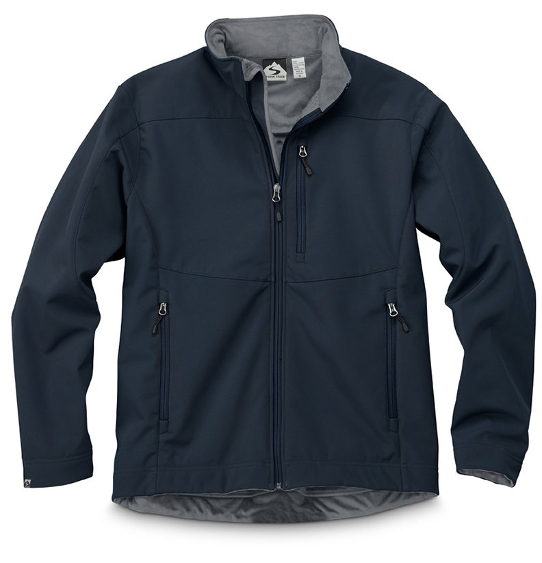 Storm Creek - Men's Velvet-Lined Softshell Jacket-Storm Creek