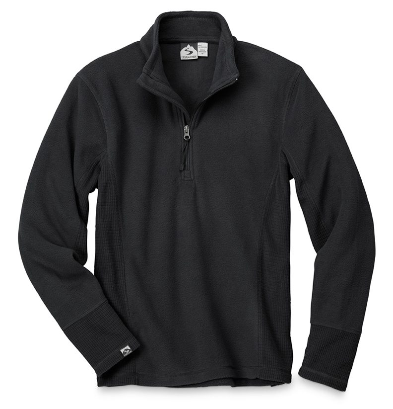 Storm Creek - Men's Drop Needle Microfleece Pullover-Storm Creek