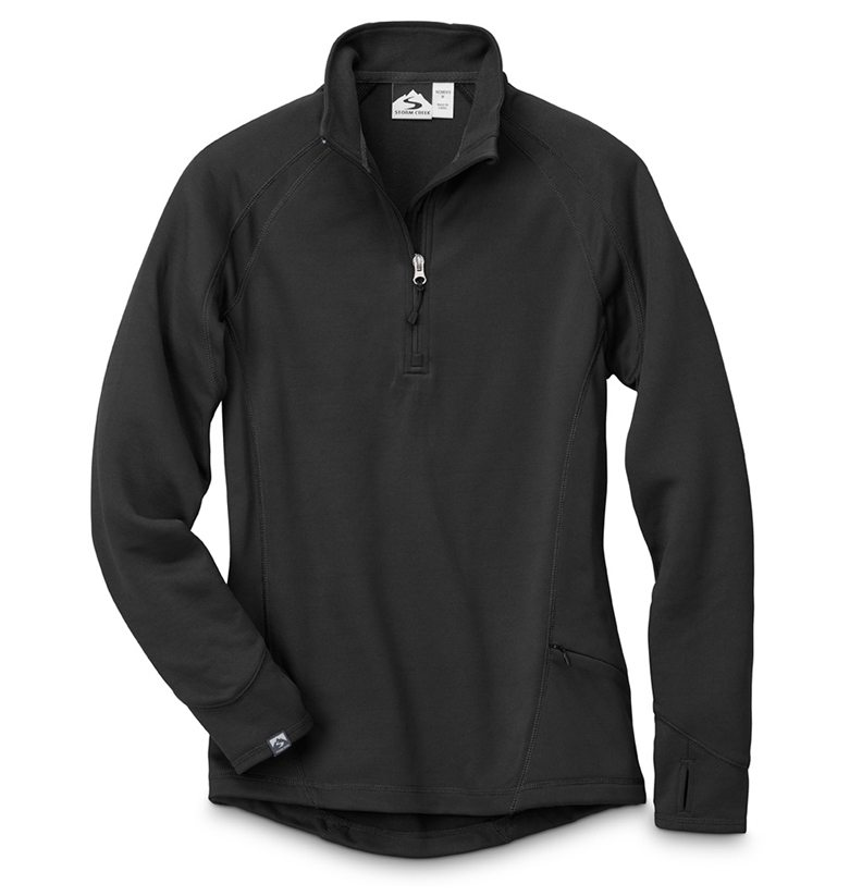 Storm Creek - Women's Smart Layer Performance Pullover-Storm Creek