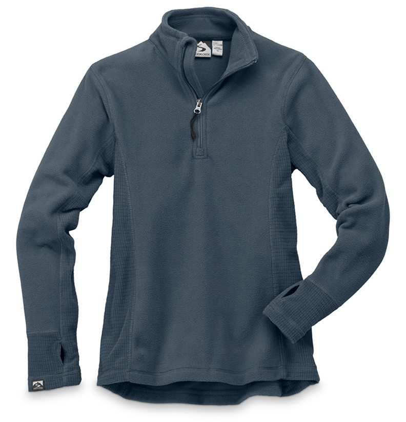 Storm Creek - Drop Needle Microfleece Pullover-Storm Creek