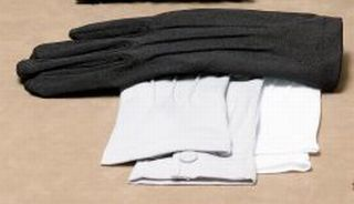 Pure Cotton Grip Palm Full Fashion Heavyweight Black-