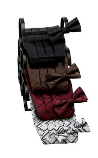Rectangle Bow Tie-Fabian Couture Group International