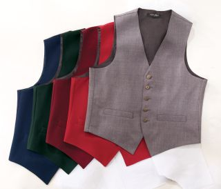 Button Long Length Vest-Fabian Couture Group International