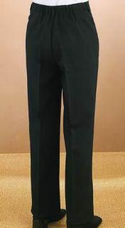 2227P Comfort Waist Plain Trouser-