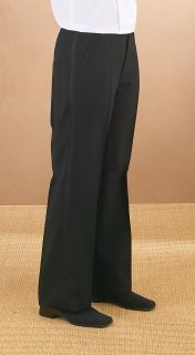 3037PL Polyester Plain Comfort Waist Tux Pant-Fabian Couture Group International