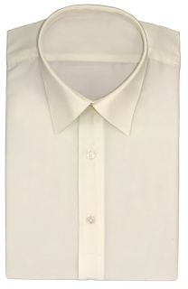 Men's Tuxedo Shirt 100% Micro Fiber Formal Dress Shirt-