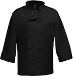 10 Button French Knot Chef Coat-Huntress Uniforms