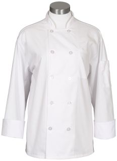 Chef Coat With Mesh Back-Fame Fabrics