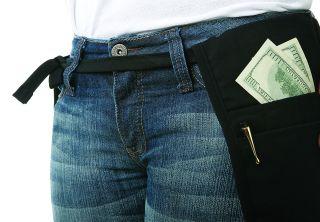 Money Pouch Belt