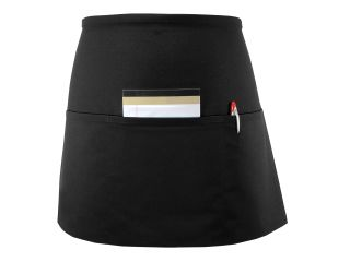 Long Three Pocket Waist Apron-