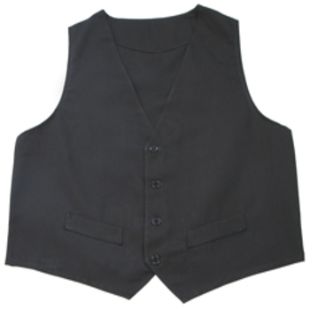 Male Fitted Vest - Larger Dimension