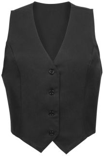 Female Fitted Vest - Larger Dimension-Fame Fabrics