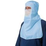 Blue MaxESD OSFA Hood/Facemask-Huntress Uniforms