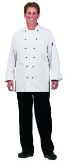 UV1778 Uni White 100C (R) Exec Chef Coat