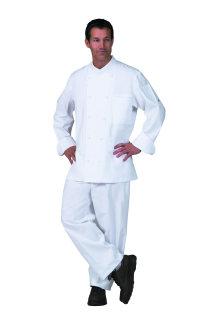 Unisex White (R) Chef Coat/10KB