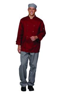 Unisex Chili Red Twl Chef Coat