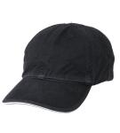 Black/White Brush 100C Twl Sandwich Cap-Huntress Uniforms