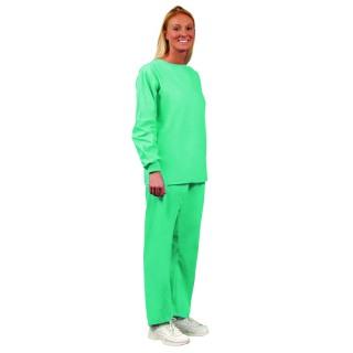 42d08c18188 Unisex Jade No Pocket Long Sleeve Scrub Shirts-Fashion Seal Health Care