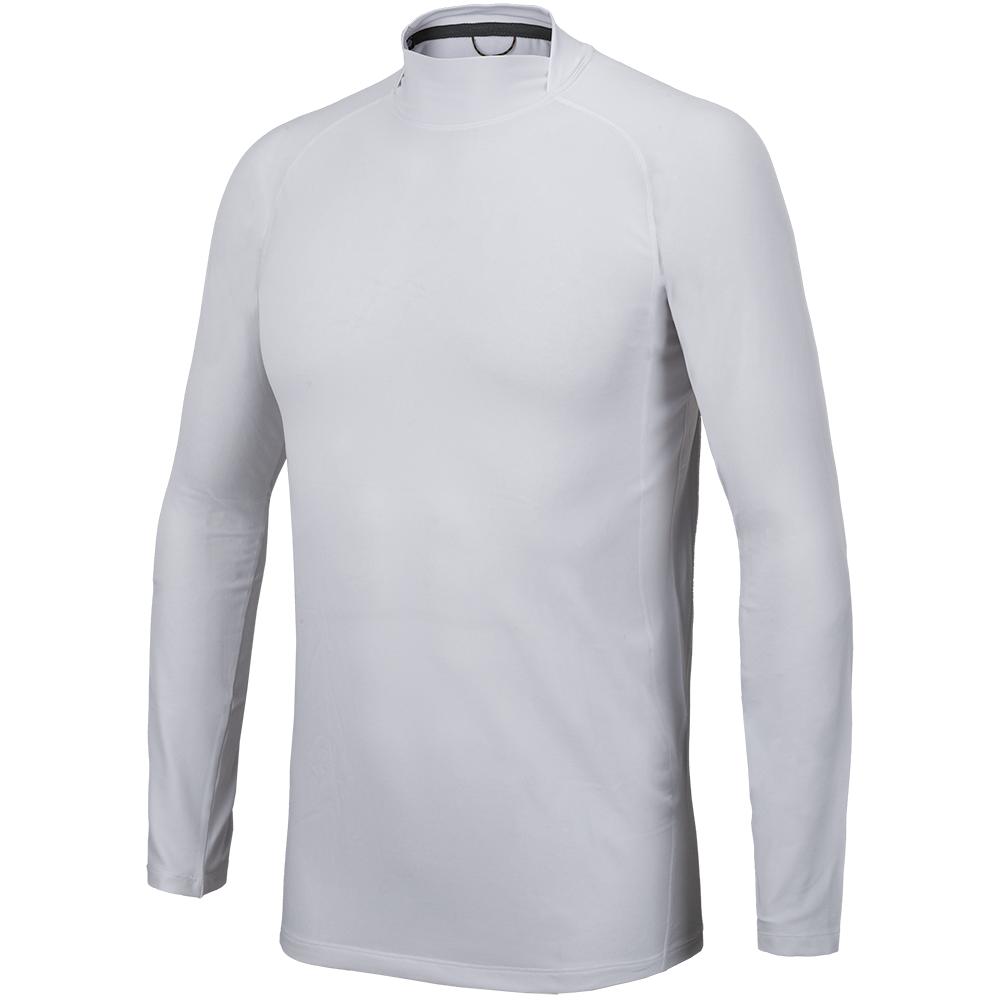 Pro Fit Split Mock Neck Base Layer Shirt-