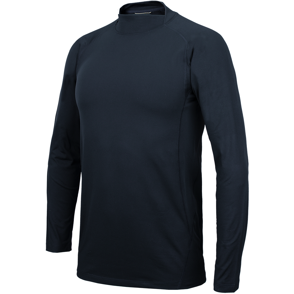Pro Fit Split Mock Neck Base Layer Shirt