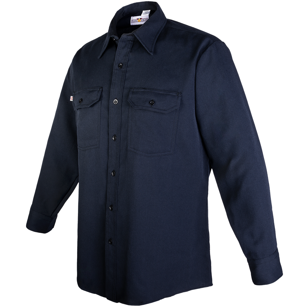 Cross FR Men's Long Sleeve Station Wear Shirt-Flying Cross