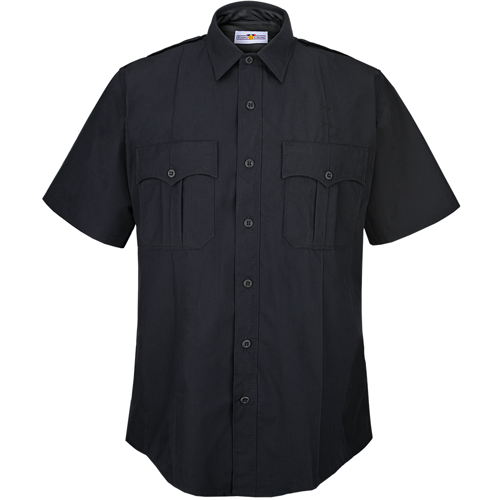 Cross FX Elite Men's Class A Style Short Sleeve Duty Shirt-Flying Cross