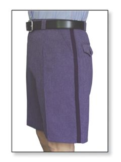 Female Walk Short Postal Blue-
