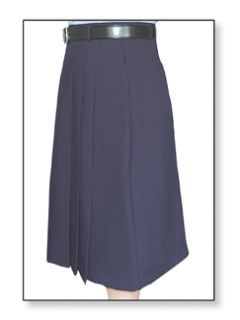 Postal Womens Clerk Skirt Navy Blue-Flying Cross