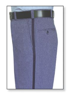 Postal Trouser 100% Polyster With Freedom Flex Postal Blue-Flying Cross