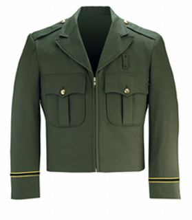 Command Zip Front Forest Green-Flying Cross