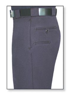 Mens LAPD Navy T-9 Elastique 100% Visa System 3 Polyester Trouser-