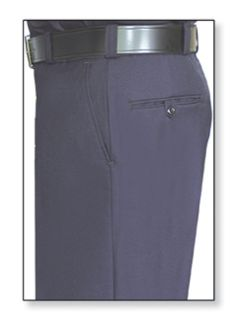 Womens Navy Blue T-1 Trouser, 80/20 Polyester/Wool, Twill Weave-
