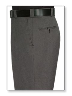 Mens Castillio Grey T-1 Elastique 100% Visa®; System 3 Polyester Trouser-Flying Cross