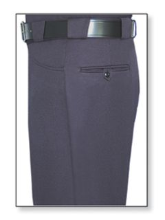 Mens LAPD Navy T-8 Elastique 100% Visa®; System 3 Polyester Trouser-