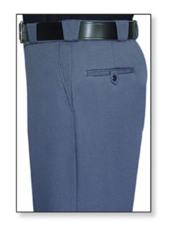 Mens French Blue T-3 Elastique 100% Visa®; System 3 Polyester Trouser-
