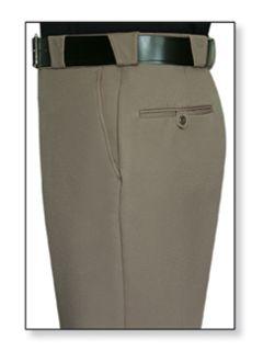 Mens Tan T-3 Elastique 100% Visa®; System 3 Polyester Trouser-