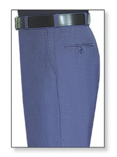 Mens Air Force Blue T-1 Trouser, 55/45 Polyester/Wool, Gabardine Weave-Flying Cross