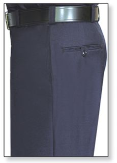 Mens Navy Blue T-2 Trouser, 55/45 Polyester/Wool, Serge Weave-