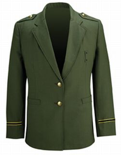 Womens Command Blazer Forest Green-