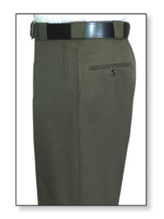 35265 100% Visa®; System 3™;Polyester Trousers-Flying Cross