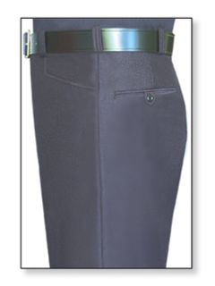 Mens LAPD Navy T-5 Serge Weave 100% Visa®; System 3 Polyester Trouser-Flying Cross
