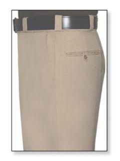 Mens Silver Tan T-1 Trouser, 100% Visa®; System 3 Polyester, Gabardine Weave-
