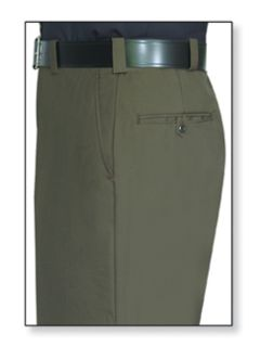 Mens Forest Green T-1 Serge Weave 100% Visa®; System 3 Polyester Trouser-