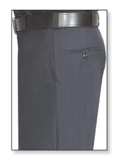 Mens Black T-1 Trouser, 100% Visa®; System 3 Polyester, Gabardine Weave-