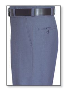 Womens French Blue T-1 Gabardine 100% Visa®; System 3 Polyester Trouser-Flying Cross