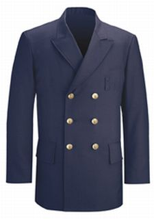 Double Breasted Dress Coat LAPD Navy-
