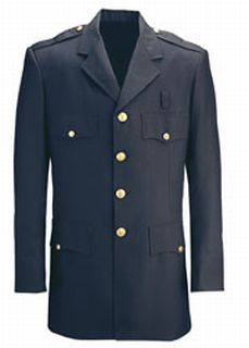 Womens Single Breasted LAPD Navy-