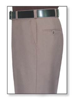 Mens Pink Tan T-1 Gabardine 100% Visa®; System 3 Polyester Trouser-Flying Cross