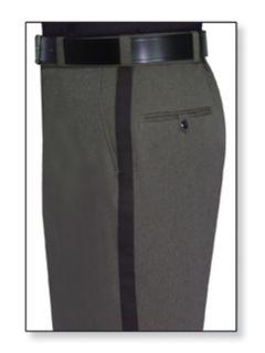 Womens Castillio Grey T-1 Gabardine 100% Visa®; System 3 Polyester Trouser-